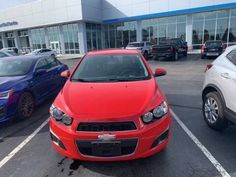 2015 Chevrolet Sonic for sale at COYLE GM - COYLE NISSAN - New Inventory in Clarksville IN