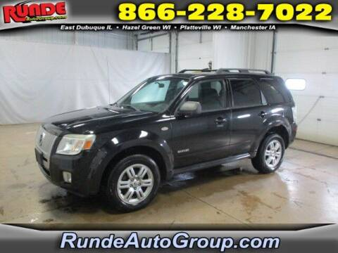 2008 Mercury Mariner for sale at Runde Chevrolet in East Dubuque IL