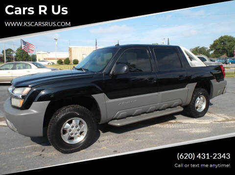 2002 Chevrolet Avalanche for sale at Cars R Us in Chanute KS