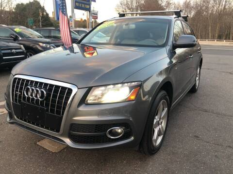 2012 Audi Q5 for sale at TOLLAND CITGO AUTO SALES in Tolland CT