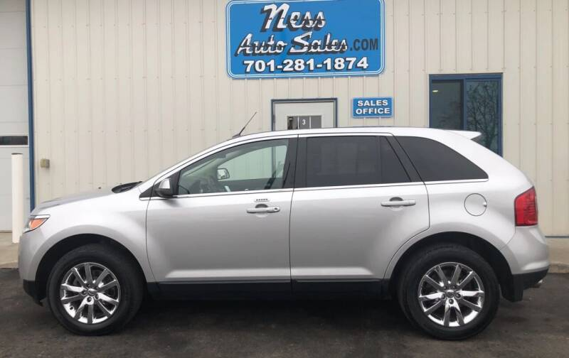 2013 Ford Edge for sale at NESS AUTO SALES in West Fargo ND