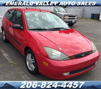 2004 Ford Focus for sale at Emerald Valley Auto Sales in Des Moines WA