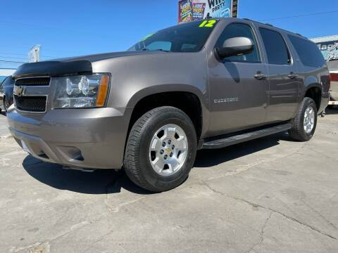 2012 Chevrolet Suburban for sale at MAGIC AUTO SALES, LLC in Nampa ID