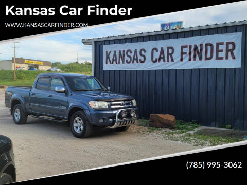 2006 Toyota Tundra for sale at Kansas Car Finder in Valley Falls KS
