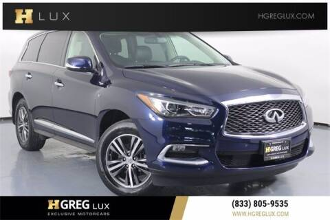 2018 Infiniti QX60 for sale at HGREG LUX EXCLUSIVE MOTORCARS in Pompano Beach FL