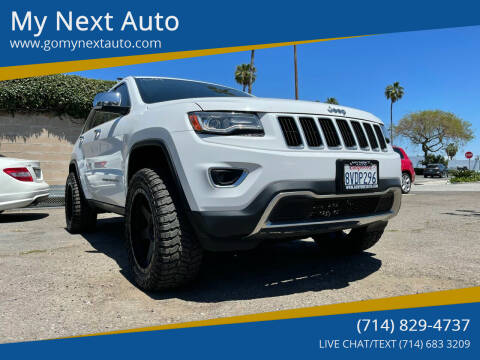 2014 Jeep Grand Cherokee for sale at My Next Auto in Anaheim CA