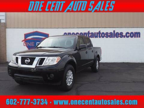 2015 Nissan Frontier for sale at One Cent Auto Sales in Glendale AZ