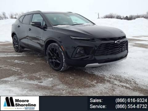 2021 Chevrolet Blazer for sale at Moore Shoreline Chevrolet in Sebewaing MI