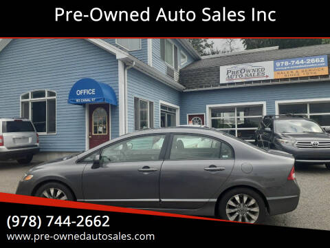 2009 Honda Civic for sale at Pre-Owned Auto Sales Inc in Salem MA