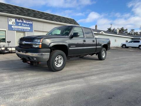 2004 Chevrolet Silverado 2500HD for sale at D AND D AUTO SALES AND REPAIR in Marion WI