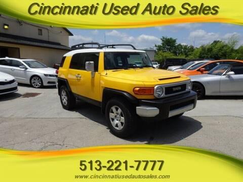 2010 Toyota FJ Cruiser for sale at Cincinnati Used Auto Sales in Cincinnati OH