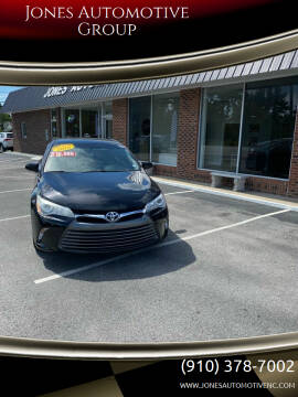 2016 Toyota Camry for sale at Jones Automotive Group in Jacksonville NC
