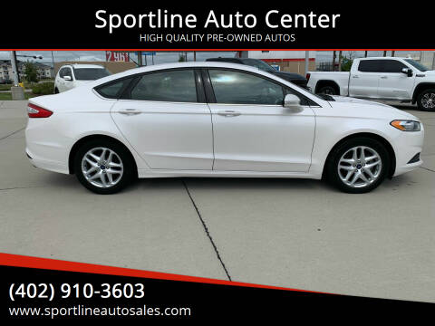 2014 Ford Fusion for sale at Sportline Auto Center in Columbus NE