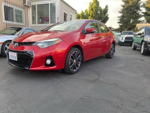 2016 Toyota Corolla for sale at Ronnie Motors LLC in San Jose CA