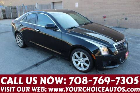 2013 Cadillac ATS for sale at Your Choice Autos in Posen IL