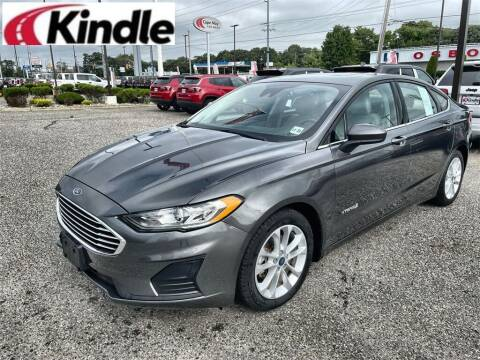 2019 Ford Fusion Hybrid for sale at Kindle Auto Plaza in Cape May Court House NJ