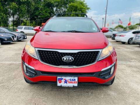 2015 Kia Sportage for sale at HOUSTON CAR SALES INC in Houston TX