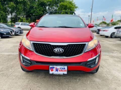 2015 Kia Sportage for sale at HOUSTON CAR SALES INC in Houston TX