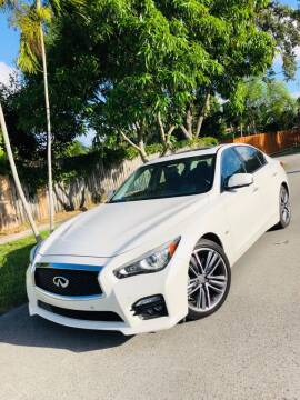 2016 Infiniti Q50 for sale at IRON CARS in Hollywood FL