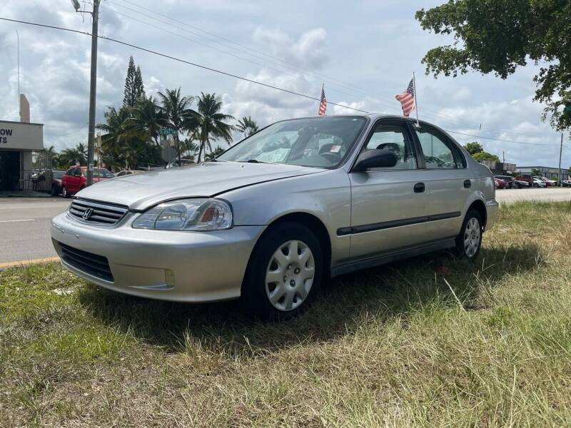 1999 Honda Civic for sale at WRD Auto Sales in Hollywood FL