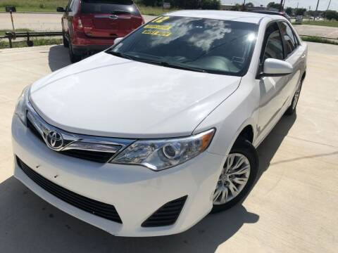 2012 Toyota Camry for sale at Raj Motors Sales in Greenville TX