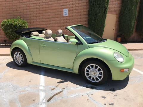 2005 Volkswagen New Beetle Convertible for sale at Freedom  Automotive in Sierra Vista AZ