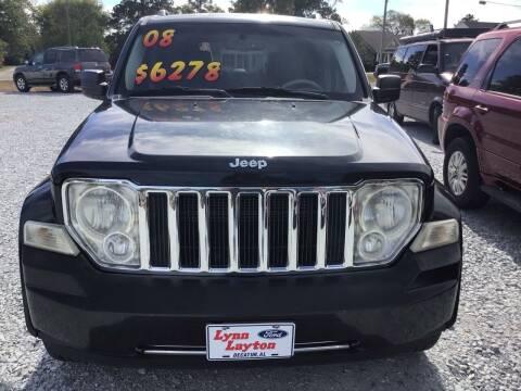 2008 Jeep Liberty for sale at K & E Auto Sales in Ardmore AL
