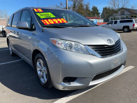 2013 Toyota Sienna for sale at Low Price Auto and Truck Sales, LLC in Brooks OR
