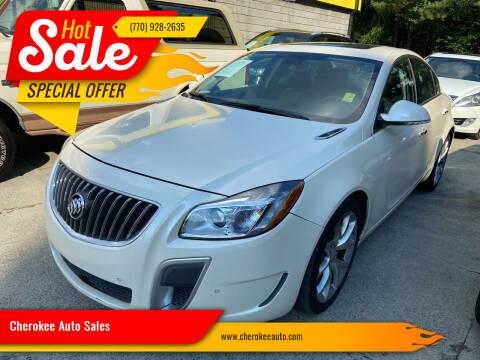 2012 Buick Regal for sale at Cherokee Auto Sales in Acworth GA