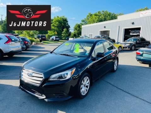 2015 Subaru Legacy for sale at J & J MOTORS in New Milford CT