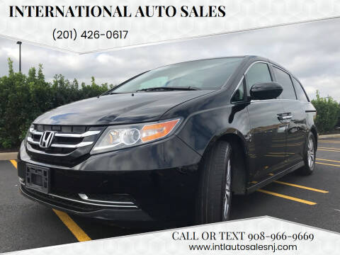 2015 Honda Odyssey for sale at International Auto Sales in Hasbrouck Heights NJ
