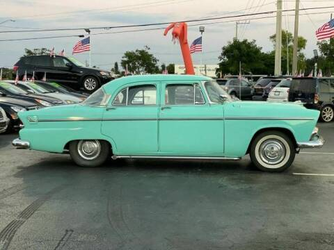 1955 Plymouth Belvedere for sale at Classic Car Deals in Cadillac MI