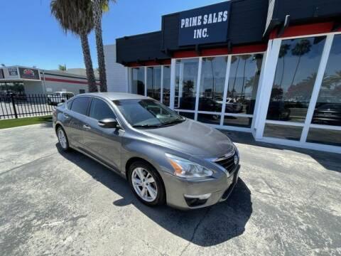 2014 Nissan Altima for sale at Prime Sales in Huntington Beach CA
