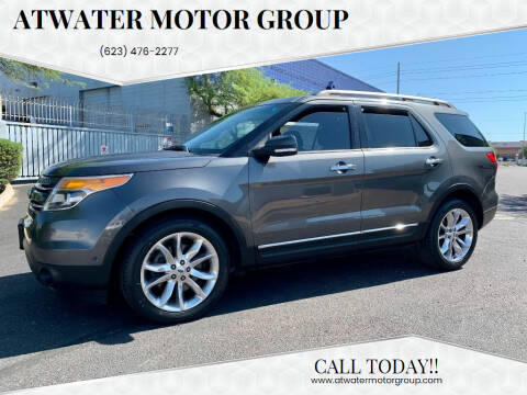 2015 Ford Explorer for sale at Atwater Motor Group in Phoenix AZ