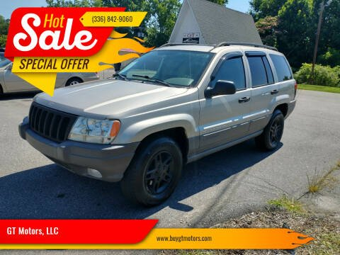 2003 Jeep Grand Cherokee for sale at GT Motors, LLC in Elkin NC