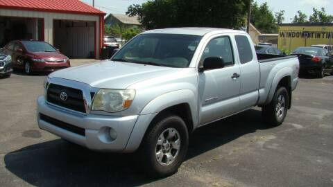 2006 Toyota Tacoma for sale at Red Rock Auto LLC in Oklahoma City OK