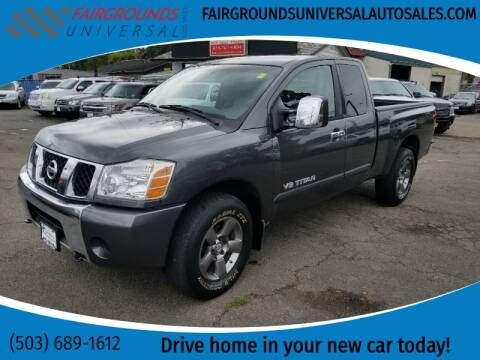 2005 Nissan Titan for sale at Universal Auto Sales in Salem OR