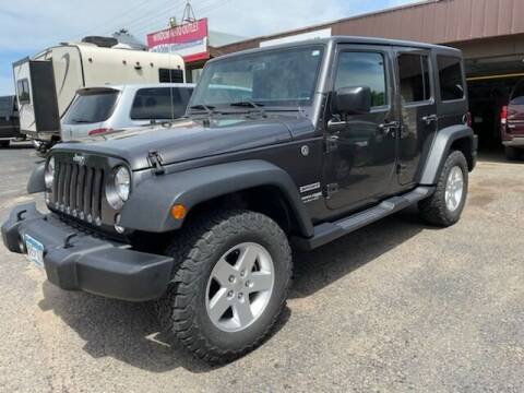 2018 Jeep Wrangler JK Unlimited for sale at WINDOM AUTO OUTLET LLC in Windom MN