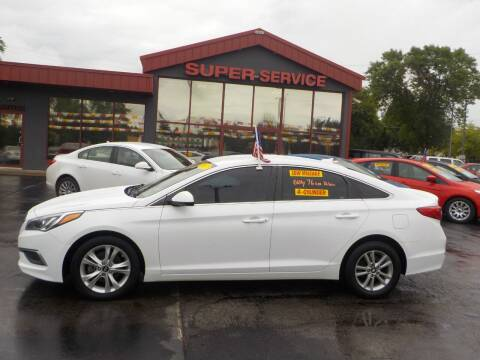 2017 Hyundai Sonata for sale at Super Service Used Cars in Milwaukee WI