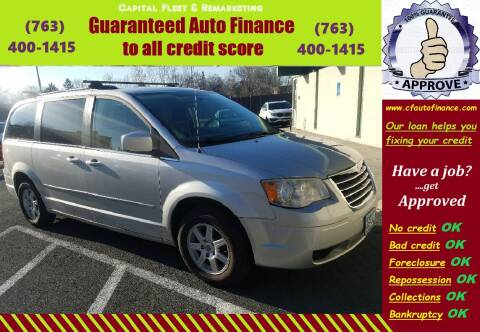 2010 Chrysler Town and Country for sale at Capital Fleet  & Remarketing  Auto Finance in Columbia Heights MN