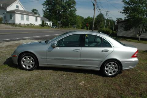 2006 Mercedes-Benz C-Class for sale at Bruce H Richardson Auto Sales in Windham NH