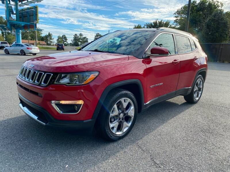 2018 Jeep Compass for sale at Autoteam of Valdosta in Valdosta GA