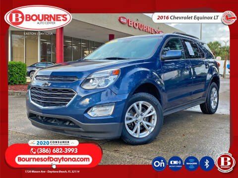 2016 Chevrolet Equinox for sale at Bourne's Auto Center in Daytona Beach FL
