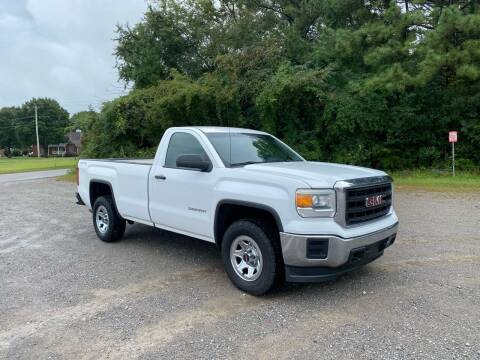 2015 GMC Sierra 1500 for sale at Tennessee Valley Wholesale Autos LLC in Huntsville AL