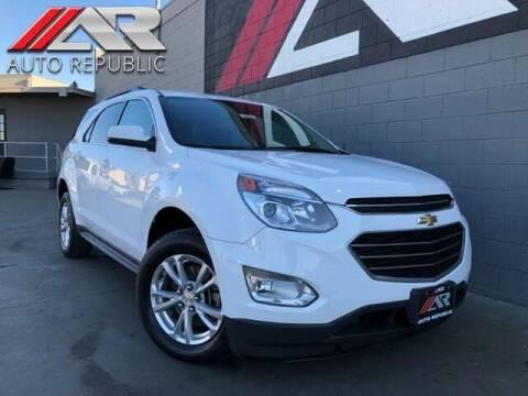 2017 Chevrolet Equinox for sale at Auto Republic Fullerton in Fullerton CA