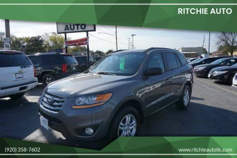 2010 Hyundai Santa Fe for sale at Ritchie Auto in Appleton WI
