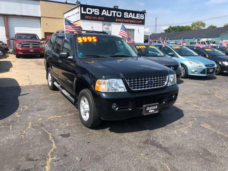 2005 Ford Explorer for sale at Lo's Auto Sales in Cincinnati OH