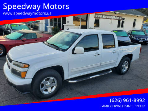 2011 Chevrolet Colorado for sale at Speedway Motors in Glendora CA