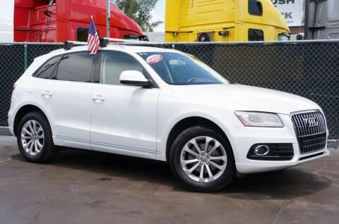 2014 Audi Q5 for sale at MATRIX AUTO SALES INC in Miami FL