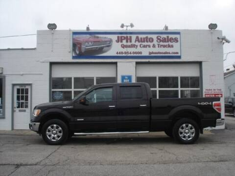 2014 Ford F-150 for sale at JPH Auto Sales in Eastlake OH